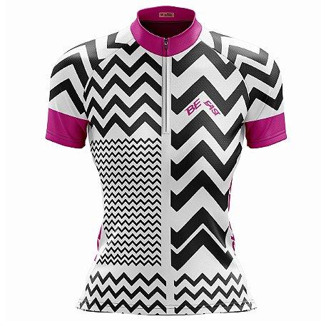 Camisa Ciclismo Mountain Bike Feminina Pantera