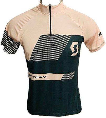 Camisa Ciclismo MTB Feminina Scott Nude