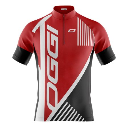 Camisa Ciclismo Mountain Bike Oggi Vermelha