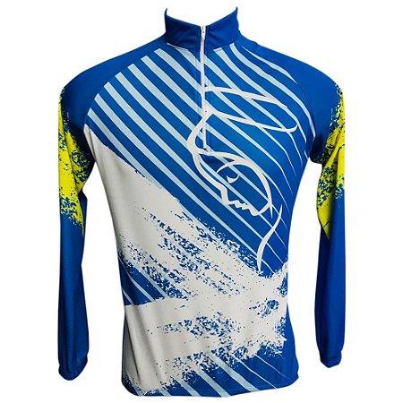 Camisa Ciclismo MTB Nossa Senhora Azul