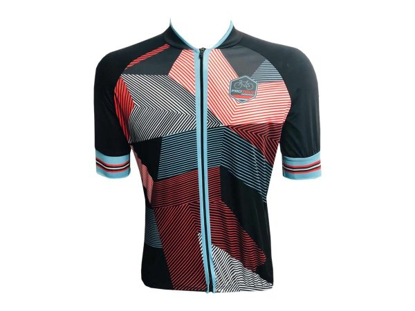 Camisa Ciclismo Mountain Bike Pro Tour Drop Zíper Abertura Tota