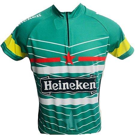 Camisa Ciclismo MTB Heineken