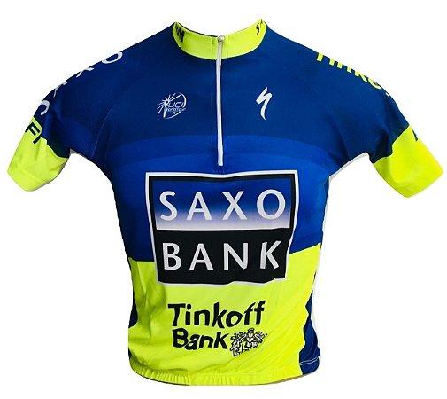 Camisa Ciclismo Mtb Saxo Bank Tinkoff