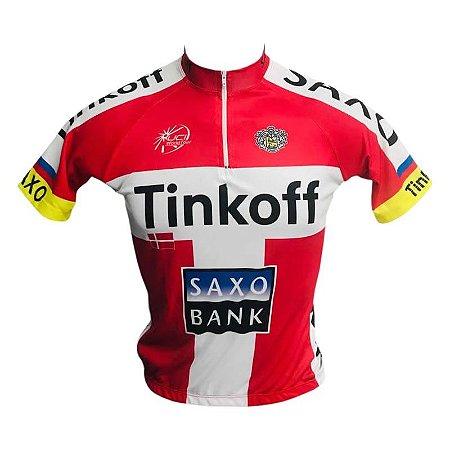 Camisa Ciclismo Mtb Tinkoff Saxo Bank