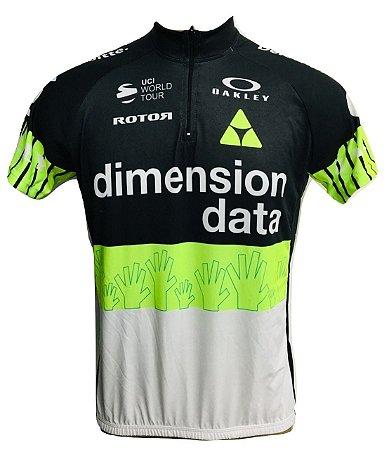 Camisa Ciclismo Mtb Dimension Data