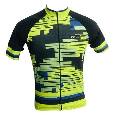 Camisa Ciclismo MTB Smart Pro Tour Degrade Zíper Total
