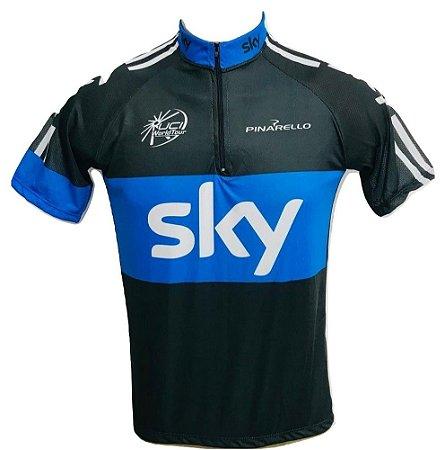 Camisa Ciclismo Mtb Sky Team