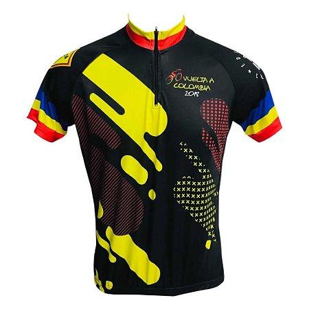 Camisa Ciclismo MTB Tour da Colômbia