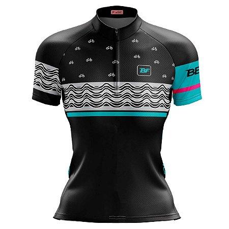 Camisa Ciclismo Mountain Bike Feminina Garota Ipanema