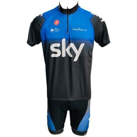 Conjunto Ciclismo MTB  Bermuda e Camisa Sky