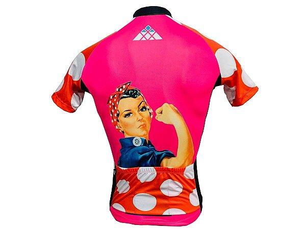 Camisa Ciclismo MTB Feminina Dona Maria