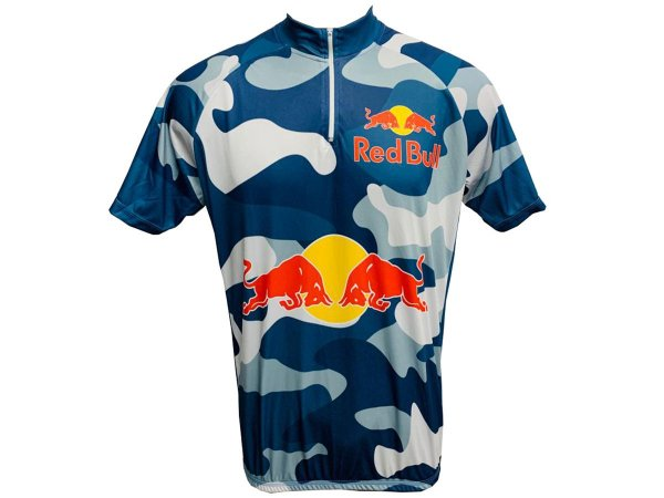 Camisa Ciclismo Mtb Red Bull