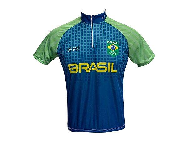Camisa Ciclismo Mountain Bike Seleção Brasileira