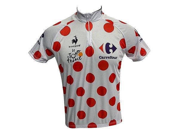Camisa Ciclismo Mountain Bike Tour de France KOM