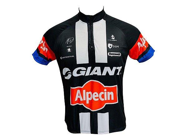 Camisa Ciclismo Mountain Bike Giant Alpecin