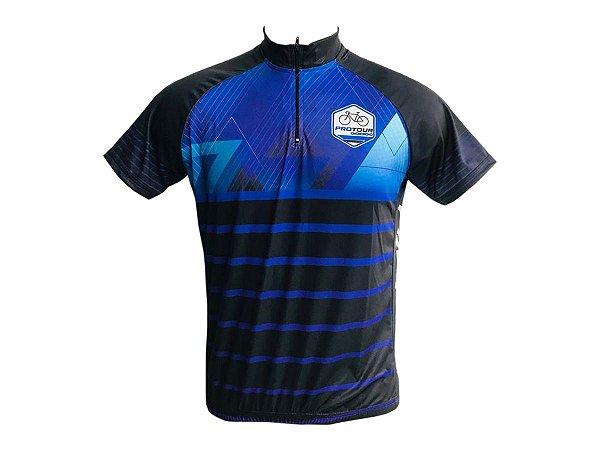 Camisa Ciclismo Mountain Bike Pro tour Roxa