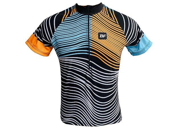 Camisa Ciclismo Mountain Bike Feminina Zebra