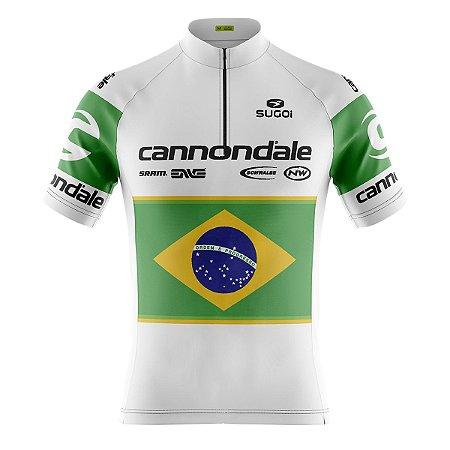 Camisa Ciclismo Mountain Bike Cannondale Brasil