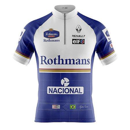 Camisa Ciclismo Mountain Bike Senna Williams