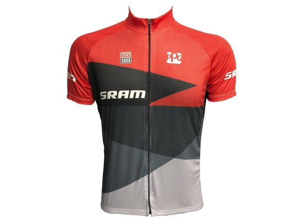 Camisa Ciclismo Mountain Bike Sram Zíper Total
