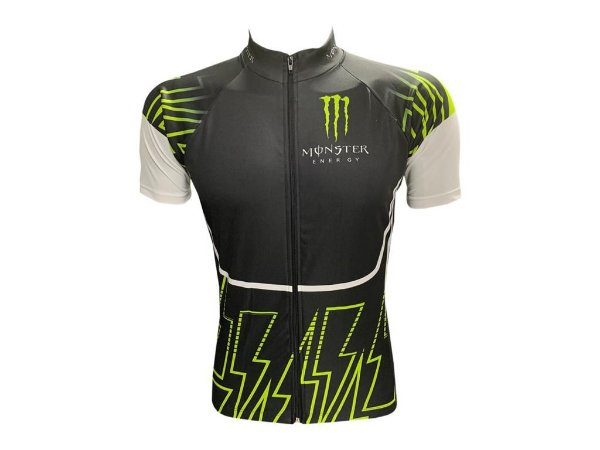 Camisa Ciclismo Mountain Bike Monster Zíper Total