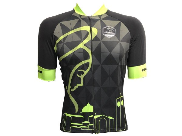 Camisa Ciclismo Mountain Bike Pro Tour Elite Nossa Senhora Zíper Total
