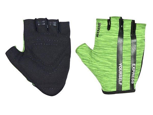 Luva Ciclismo Mountain Bike Kode Express Verde