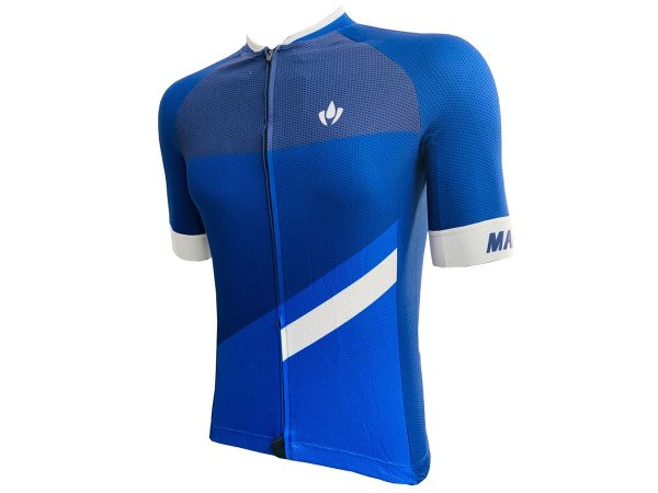 Camisa Ciclismo Mountain Bike Marelli Europa Blue