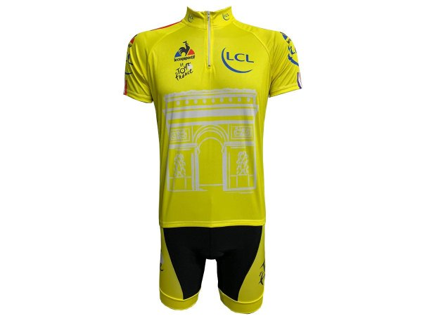 Conjunto Ciclismo Mountain Bike Bermuda e Camisa Tour De France