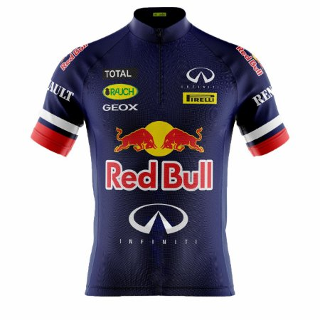 Camisa Ciclismo Mountain Bike Red Bull