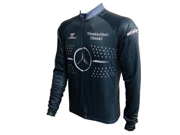 Camisa Ciclismo Mountain Bike Manga Longa Mercedes-Benz