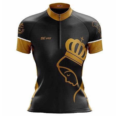 Camisa Ciclismo Mountain Bike Feminina Nossa Senhora Dourada