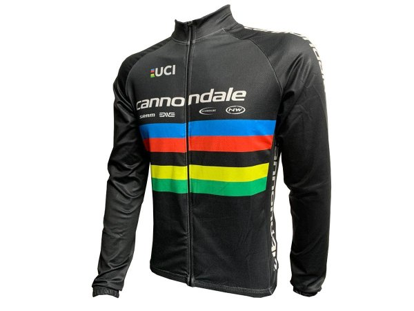 Jaqueta Ciclismo Mountain Bike Cannondale UCI Zíper Total