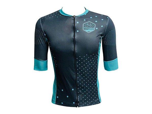 Camisa Ciclismo Pro Tour Valência Premium Zíper Total