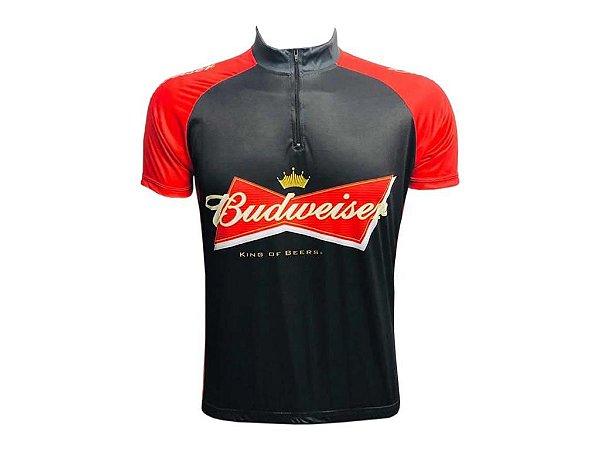 Camisa Ciclismo Mountain Bike Budweiser