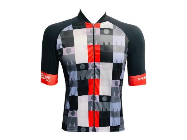 Camisa Ciclismo Mountain Bike Pro Tour Ironman Zíper Abertura Total