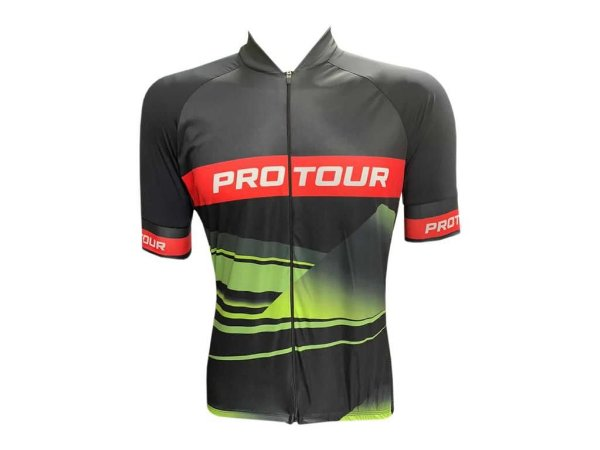 Camisa Ciclismo Mountain Bike Pro Tour Pisa Zíper Abertura Total