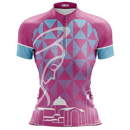 Camisa Ciclismo Mountain Bike Feminina Nossa Senhora Aparecida