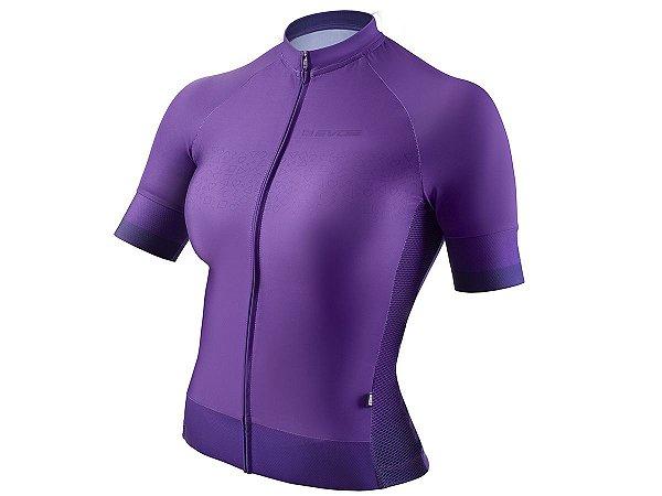 Camisa Ciclismo Feminina Evoe Roxa
