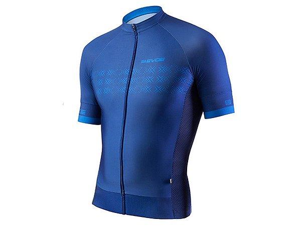 Camisa Ciclismo Masculina Evoe Azul