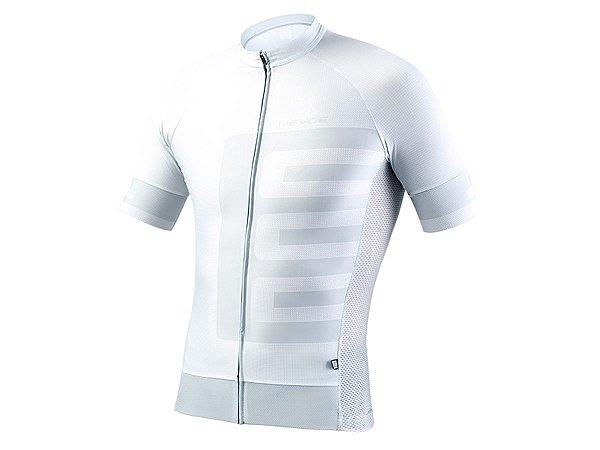 Camisa Ciclismo Masculina Evoe Branca Cinza