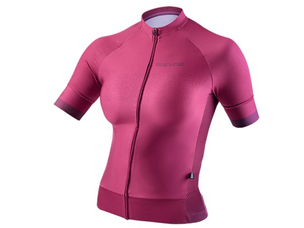Camisa Ciclismo Feminina Evoe Bordô