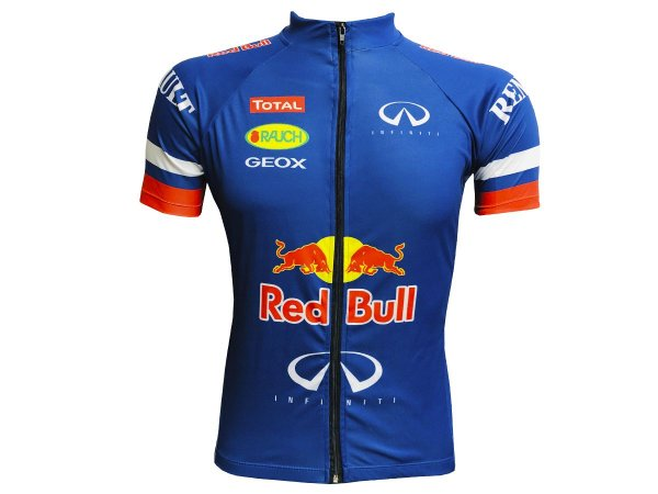 Camisa Ciclismo Mountain Bike Red Bull Zíper Total