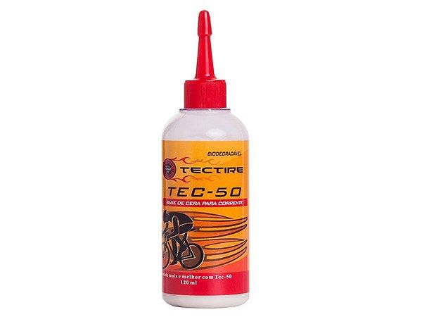Óleo Lubrificante Tectire Tec-50 Bio Cera Bike 120ml