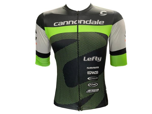 Camisa Ciclismo Mountain Bike Cannondale Premium Zíper Total
