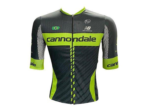 Camisa Ciclismo Mountain Bike Cannondale Premium Zíper Total
