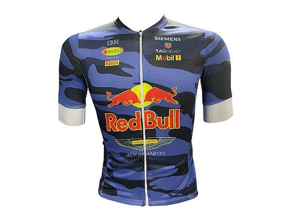 Camisa Ciclismo Mountain Bike RED BULL Premium