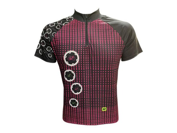 Camisa Feminina Mountain Bike Catraca Bicicleta