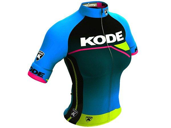 Camisa Ciclismo Mountain Bike Feminina Kode Elite Active