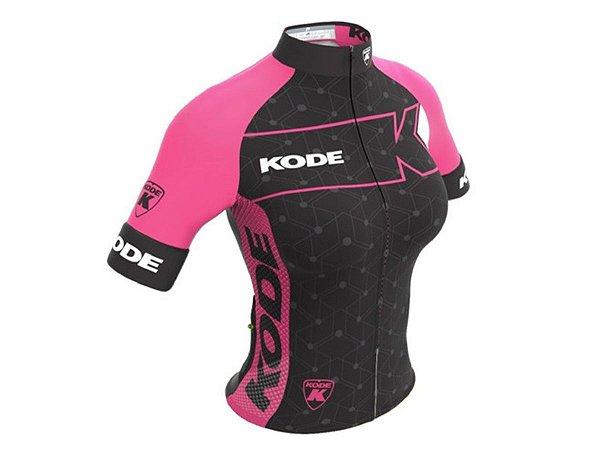 Camisa Ciclismo Mountain Bike Feminina Kode Elite Expert